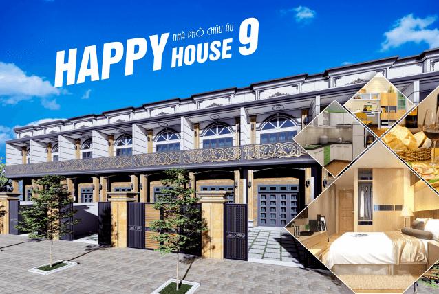 Nhà Phố Châu Âu Happy House 9 - Nhà Phố Bình Dương