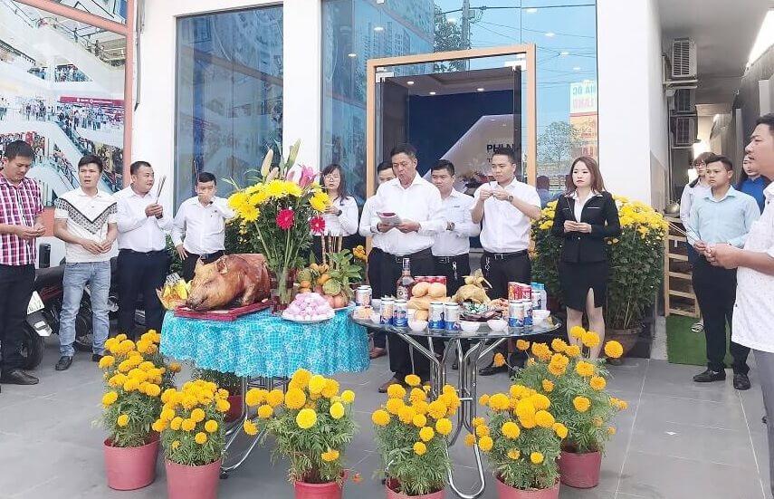 Tưng bừng Lễ khai trương đầu năm Canh Tý 2020 – Phi Nam Land Khai Xuân Lộc Phát