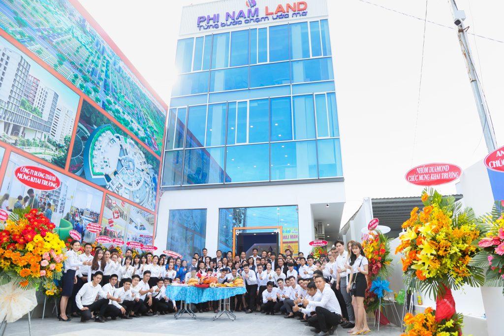 Phi Nam Land tưng bừng mừng khai trương chi nhánh mới