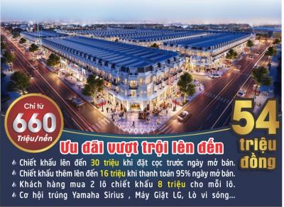 Dự án Dream city 5 khu đô thị CN Becamex Chơn Thành