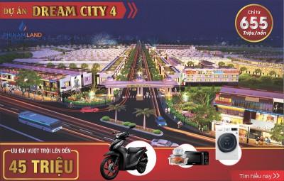 Dự án Dream city 4 khu đô thị CN Becamex Chơn Thành